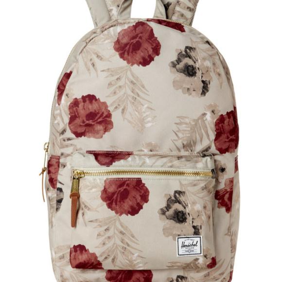 9e947c2af31 Herschel Supply Company Handbags - Herschel Supply Settlement Pelican Floral  Backpack